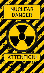 Nuclear Danger. Attention