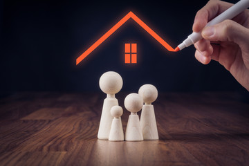 Family life and property insurance