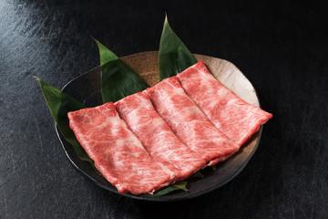 きれいな霜降り肉 The finest Kyushu Japanese beef