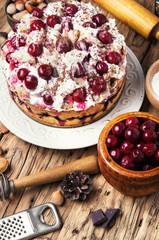 pie with cherry