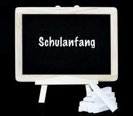 Schulanfang Tafelsymbol