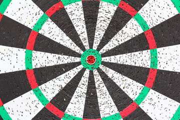 Dartboard - center
