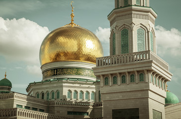Mosque in Moscow, Russia