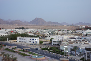 View of Sharm El Sheikh