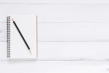 Minimal work space - Creative flat lay photo of workspace desk. White office desk wooden table background with open mock up notebooks and pens. Top view with copy space, flat lay photography.