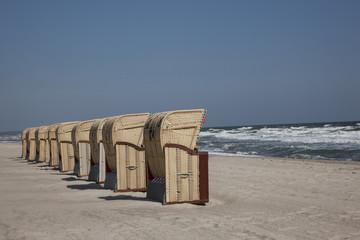 Strandkorbparade in Dahme an der Ostesee