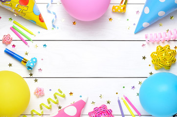 Birthday party background.