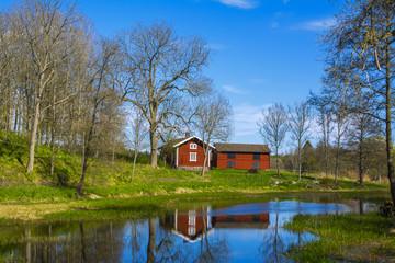 Fagervik village view, Finland