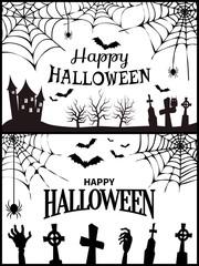 Happy Halloween Wish Poster Vector Illustration