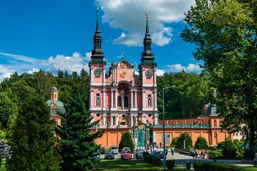 Wallfahrtskirche Święta Lipka in den Masuren; Polen