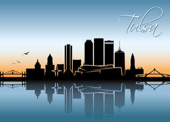 Tulsa skyline - Oklahoma