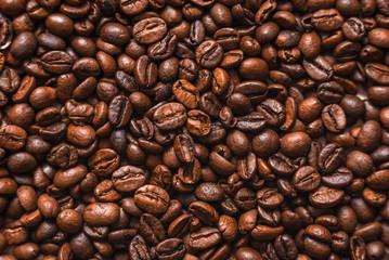 Fotobehang koffiebar Coffee beans background
