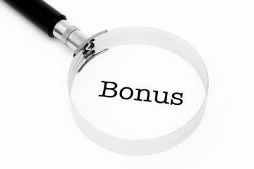 Bonus im Fokus