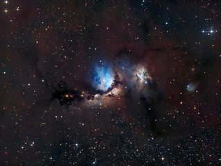 Messier 78 in the Constellation of Orion