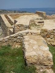 Castellote. Pueblo de Teruel ( Aragon) en la comarca turolense del Maestrazgo, en España