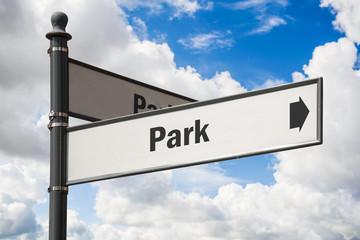 Schild 197 - Park