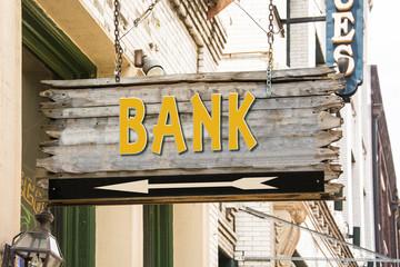 Schild 279 - Bank