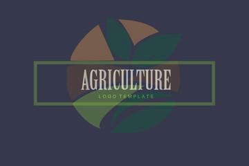 Agriculture Logo Tempate Design