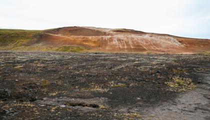 Krafla volcanic area in Iceland