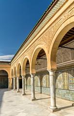 Barbier Mosque or Sidi Sahab Mausoleum in Kairouan, Tunisia
