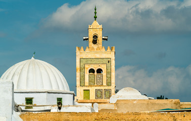 Barbier Mosque or Sidi Sahab Mausoleum in Kairouan, Tunisia