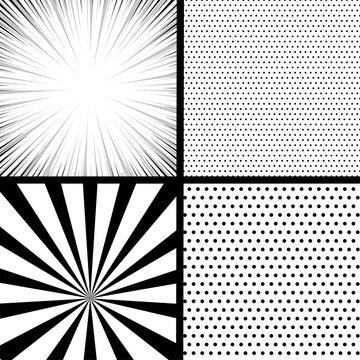 Silhouette boom explosion. Speech bubble balloon. Comics book monochrome template background. Pop art black white empty backdrop mock up. Vector illustration halftone dot mockup for comic text.