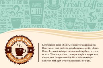 Vector coffee illustration