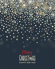 Merry Christmas Background.Vector