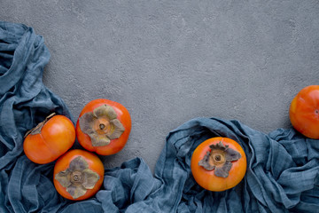 Teal and Persimmons