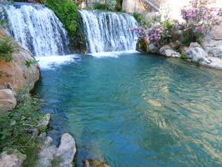 """Las """"Fuentes del Algar"""" están situadas a 3 km del centro urbano de Callosa de Ensarriá España, en dirección a Bolulla y Tárbena"""