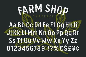 Grunge alphabet 004
