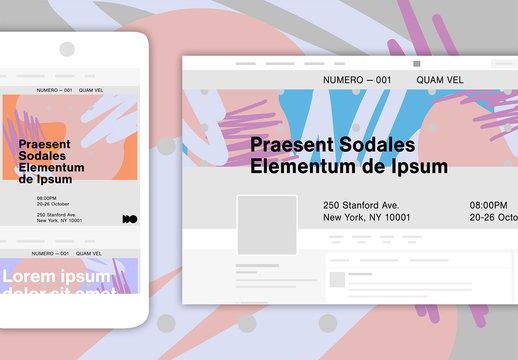 Gallery Social Media Set