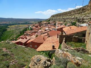 Allepuz. Pueblo de la comarca Maestrazgo en la provincia de Teruel, en la comunidad autónoma de Aragón, España.