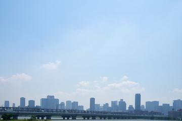 大阪市北区の街並み