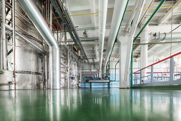 Alcohol production plant.