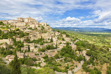 Village in the Provence, France
