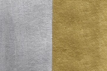 Gold and silver foil texture. Golden abstract background