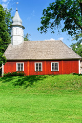 Lutherische Kirche in Turaida, Gauja Nationalpark, Lettland