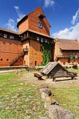 Burg Turaida im Gauja Nationalpark, Lettland