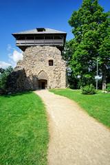 Wachturm der Ordensburg von Sigulda, Lettland