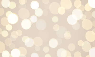 Abstract light glitter glow effect background. Vector defocused sun shine or golden and white sparkling lights and glittering glow blur and bokeh for festival or celebration background template