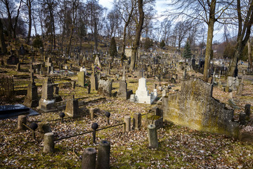 Famous old Rasos cemetery in Vilnius, Lithuania
