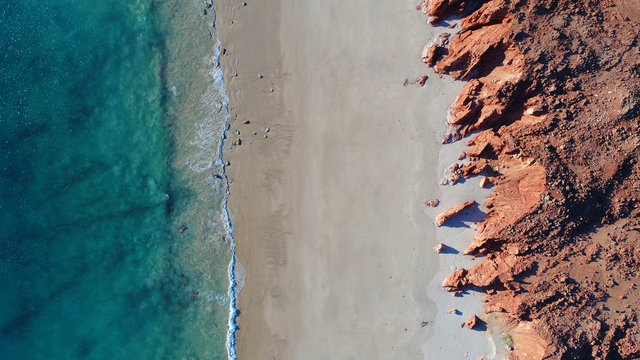 Cape Leveque, NW Australia tropical coast - colours of the outback