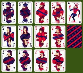 Poker Playing High Cards Set