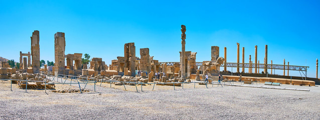 Great complex of Persepolis, Iran