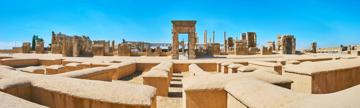 Remains of ancient Persia