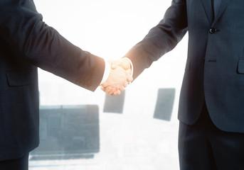 Teamwork and deal concept