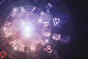 Creative zodiac background