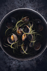 An exciting plate of Vongole
