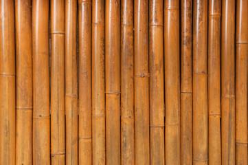 Bamboo fence background,Old bamboo